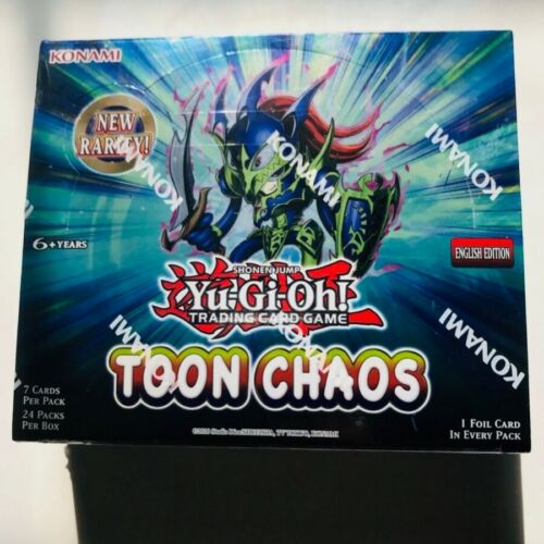 Brand new! Yugioh Toon Chaos Booster Box UNLIMITED EDITION!