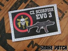 SNAKE PATCH - BOPE scorpion EVO 3 CZ - dos SCRATCH airsoft