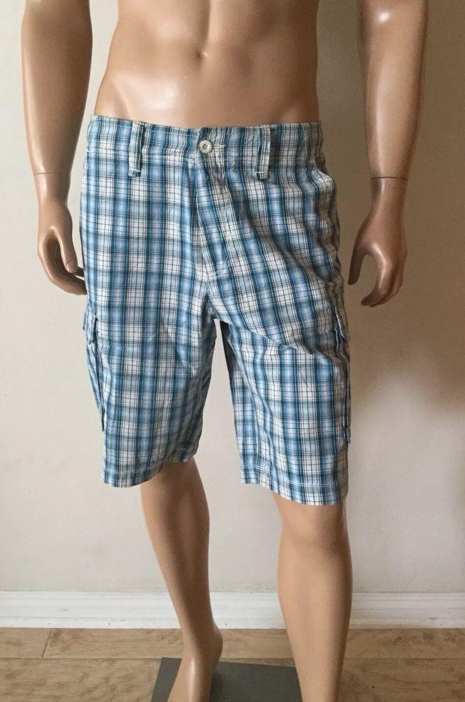 Men's BOSS Hugo Boss Plaid Shorts SIZE 32R