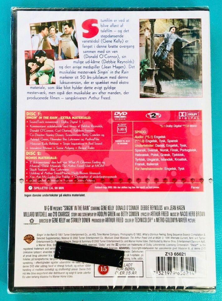 Singin in The rain, DVD, musical/dans
