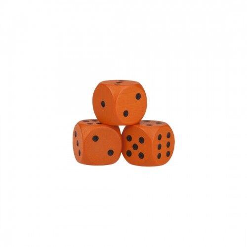 Dice - 0 5 8in - orange