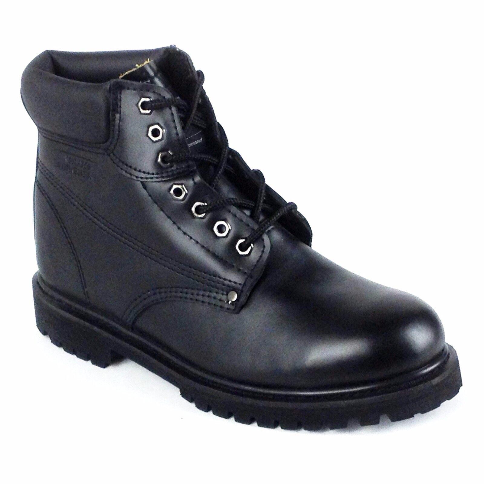 Five Star Clima nero Men's Steel Toe Work  avvio Style 62B -ST, Dimensione 8.5,9,10.  vanno a ruba