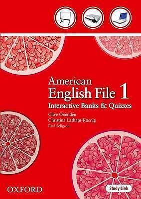 American English File: Level 1: Teacher Presentation Tool by Oxford...