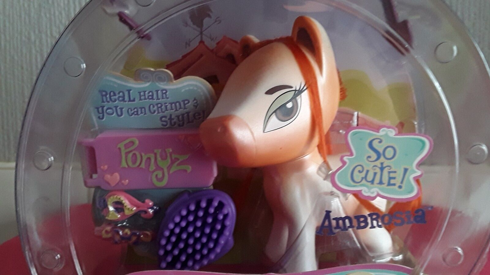 BRATZ BABYZ PONYZ(AMBROSIA)UNOPENED NEW IN ORIGINAL PACKAGE