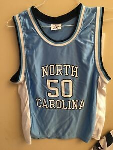 outlet store 90816 7981b IZAW Sz 6 8 North Carolina Tar Heels Basketball Jersey #50 ...