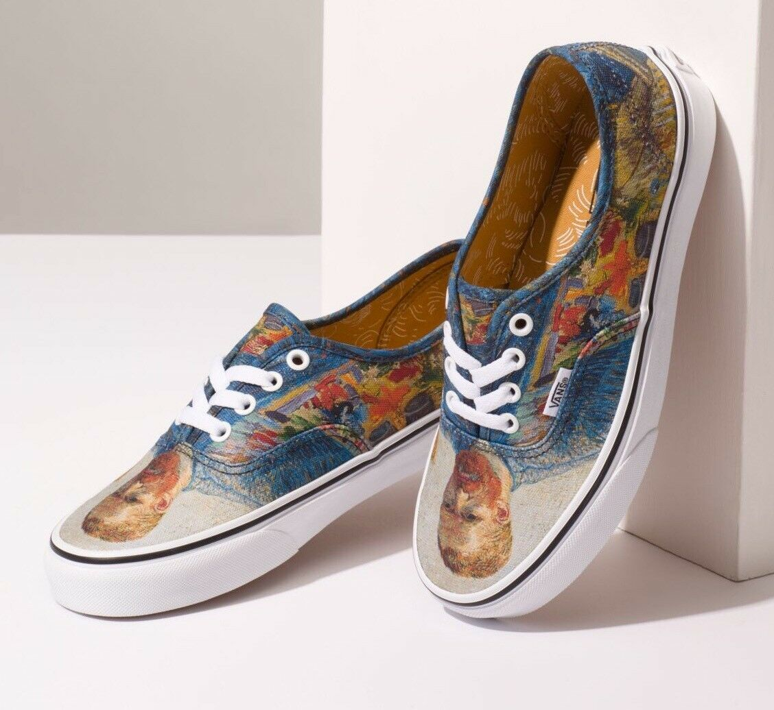 NIB Vans Limited Vincent VAN GOGH Authentic (Self (Self Authentic Portrait) - Last few pairs! d5b47f