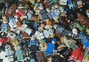 LEGO Lot of 4 Star Wars Battle DroidsRandom