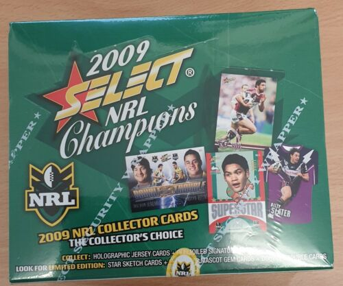 2009 Nrl Champions Factory Sealed Box
