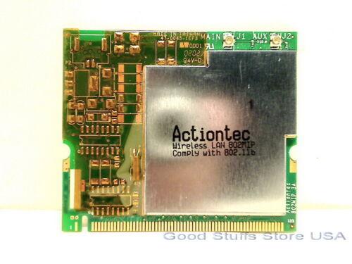 Actiontec 802MIP 802.11b MiniPCI Wireless LAN Card US Seller Shipped from USA