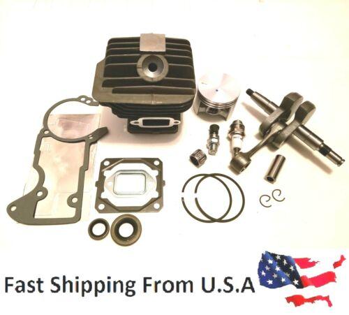52mm Cylinder Kit Stihl 046 MS460 overhaul Crankshaft gasket set with oil seal
