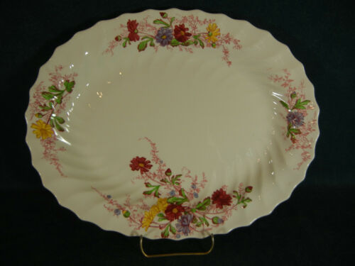 "Copeland Spode Fairy Dell 12 78"" Oval Serving Platter"