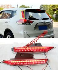 Rear Window decoration lamp led brake light for Nissan X-Trail Rogue 2014-2017