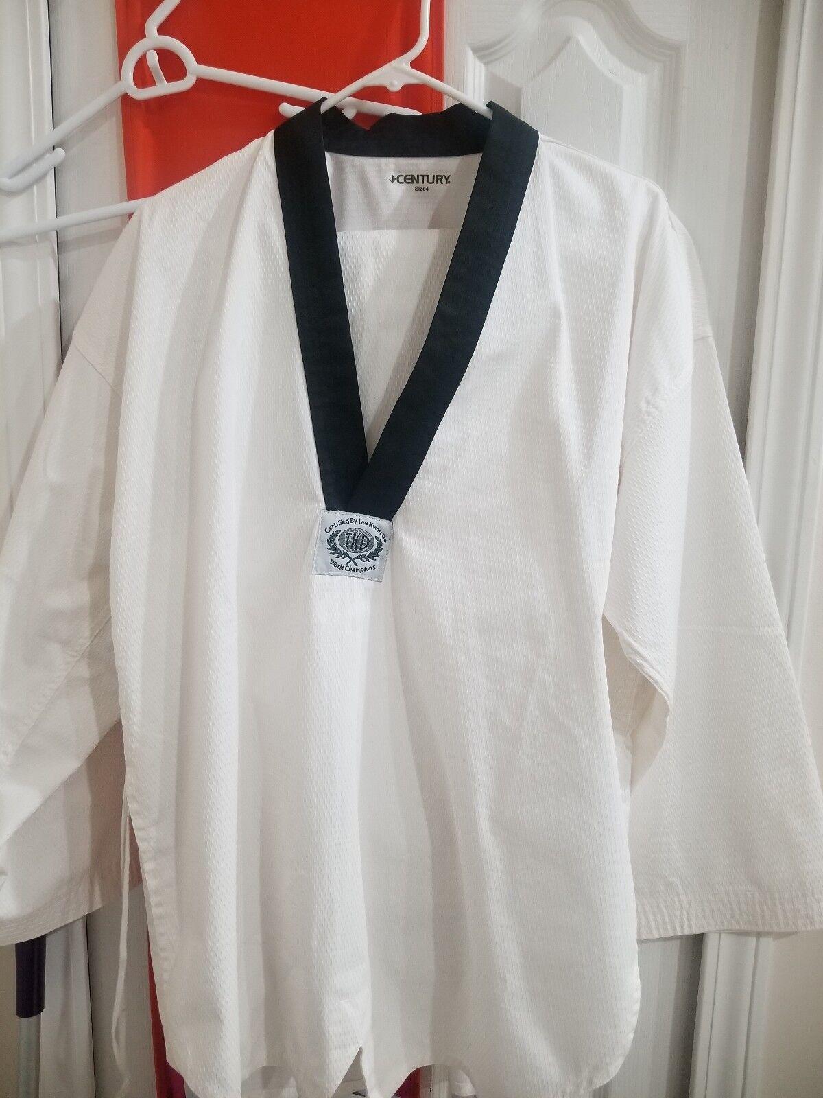Century Taekwondo Gi Size 4
