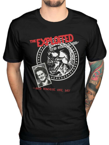 Official The Exploited Lets Start A War T-Shirt Troops Of Tomorrow Punks Not De
