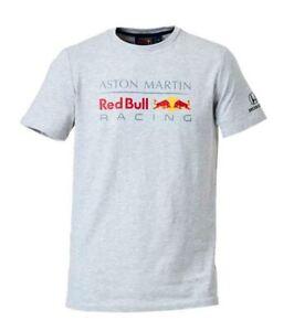 Original Honda Red Bull Racing Aston Martin T Shirt F1 Kollektion Grau Ebay