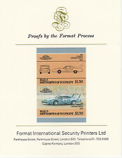 Bequia (2097) - CARS - plymouth Superbird imperf on Format Int PROOF  CARD