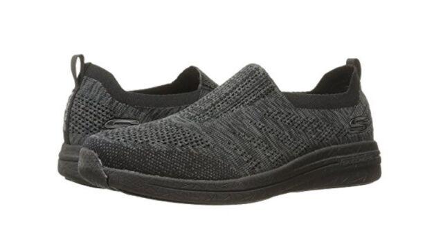 70112dde75597 Skechers Burst 2.0 Haviture Mens Black Textile Slip on SNEAKERS ...