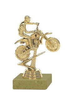 Pokal Motocross-Fahrer gold auf Marmor (H=13 cm) inkl.Gravur jetzt nur 4,95 EUR