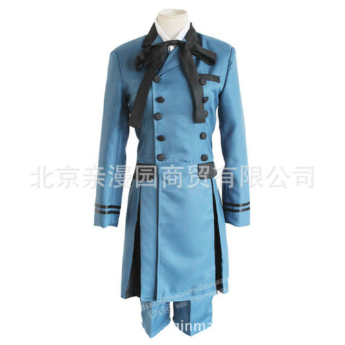 NEW Black Butler Ciel Phantomhive Cosplay Costume Cospaly Full Set Outfit Unsex