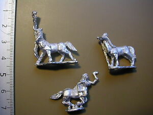 WOODLANDS-REALM-CENTAUR-COMMAND-A-3-X-METAL-15MM-FIGS-S-L-M