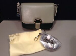 818857024199 Mini Crossbody Nwt oscuro Simple Real Verde Multi R1419 Estilo xSa6nTzR