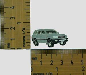 Lapel Pin FJ Cruiser Toyota Landcruiser Grey Blue Badge