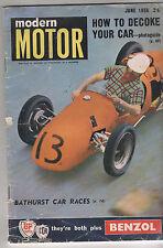 Modern Motor 1956 Jun Customline Jaguar 2.4 Bathurst 100 Story 1956 melbourne Mo