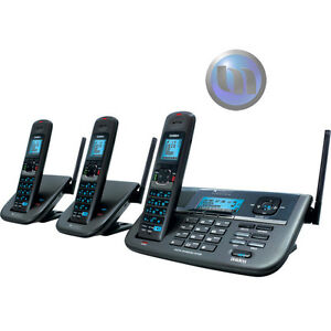 UNIDEN-Xdect-R-Long-Range-Cordless-Repeater-Phone-System-With-2-Extra-Handsets