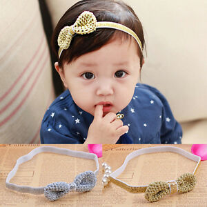 Kids-Girl-Baby-Toddler-Bow-Headband-Hair-Band-Accessories-Headwear-For-InfantM-amp-C