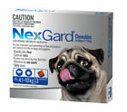NexGard Flea And Tick Chew For Dogs 4.1 To 10 kg - 3 Pack