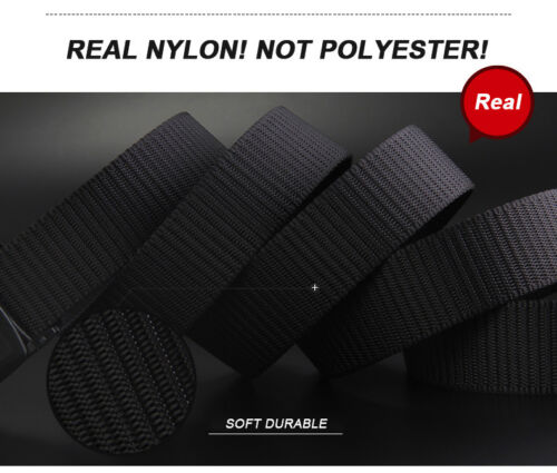 Big and Tall Plus Size 120cm To 210cm Men Nylon Military Tactical Belt