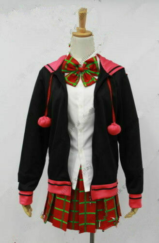 Zero Escape Clover Cosplay Costume outfit:Free shipping