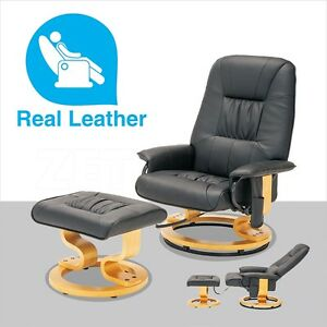 chairs see more black massage recliner chair real leather swiv