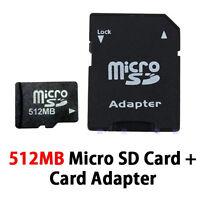 NEW 512MB MicroSD SDHC Memory Card For LG 800G,900G Prepaid Phone Tracfone,Net10