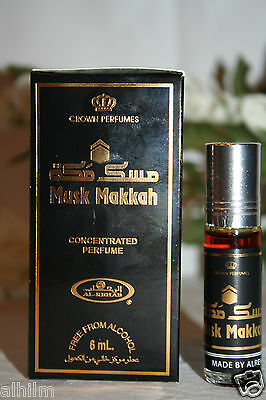 Saudi Al-Rehab Perfume MUSK MAKKAH Attar Oil Itr 6ml RollOn NEW ARRIVAL Ramadan