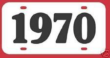1970 OLDSMOBILE 442 CUTLASS BUICK GS SKYLARK LICENSE