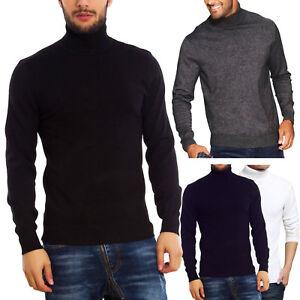 Maglione-uomo-collo-alto-lupetto-dolcevita-pullover-TOOCOOL-maniche-lunghe-D325