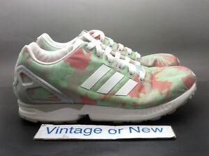 huge discount e6d32 b66a2 Image is loading Women-039-s-Adidas-Originals-ZX-Flux-Multicolor-
