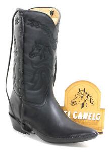 Cowboystiefel-Westernstiefel-Reitstiefel-Texas-Boots-Catalan-Style-El-Canelo-41