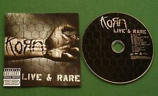 Korn Live & Rare inc Freak On A Leash / My Gift To You + CD