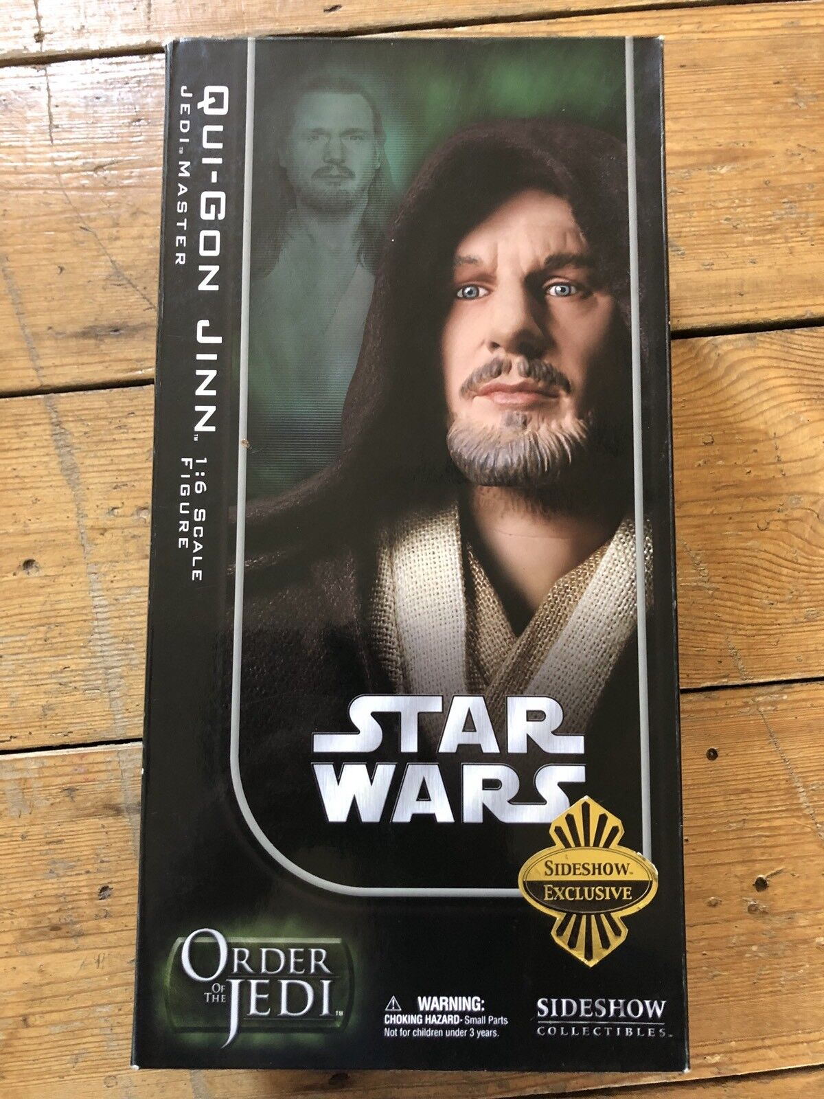 Sideshow Star Wars Order Of The Jedi Qui Gon Jinn Jedi Master Exclusive SSC1027