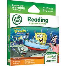 LeapFrog LeapPad 1 2 3 Ultra Game SpongeBob The Clam Prix (LeapPad Platinum)