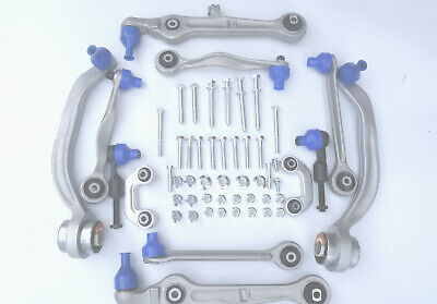 Front Suspension Full Track Control Arm Kit Set Ball Joints Audi A6 2005-2011