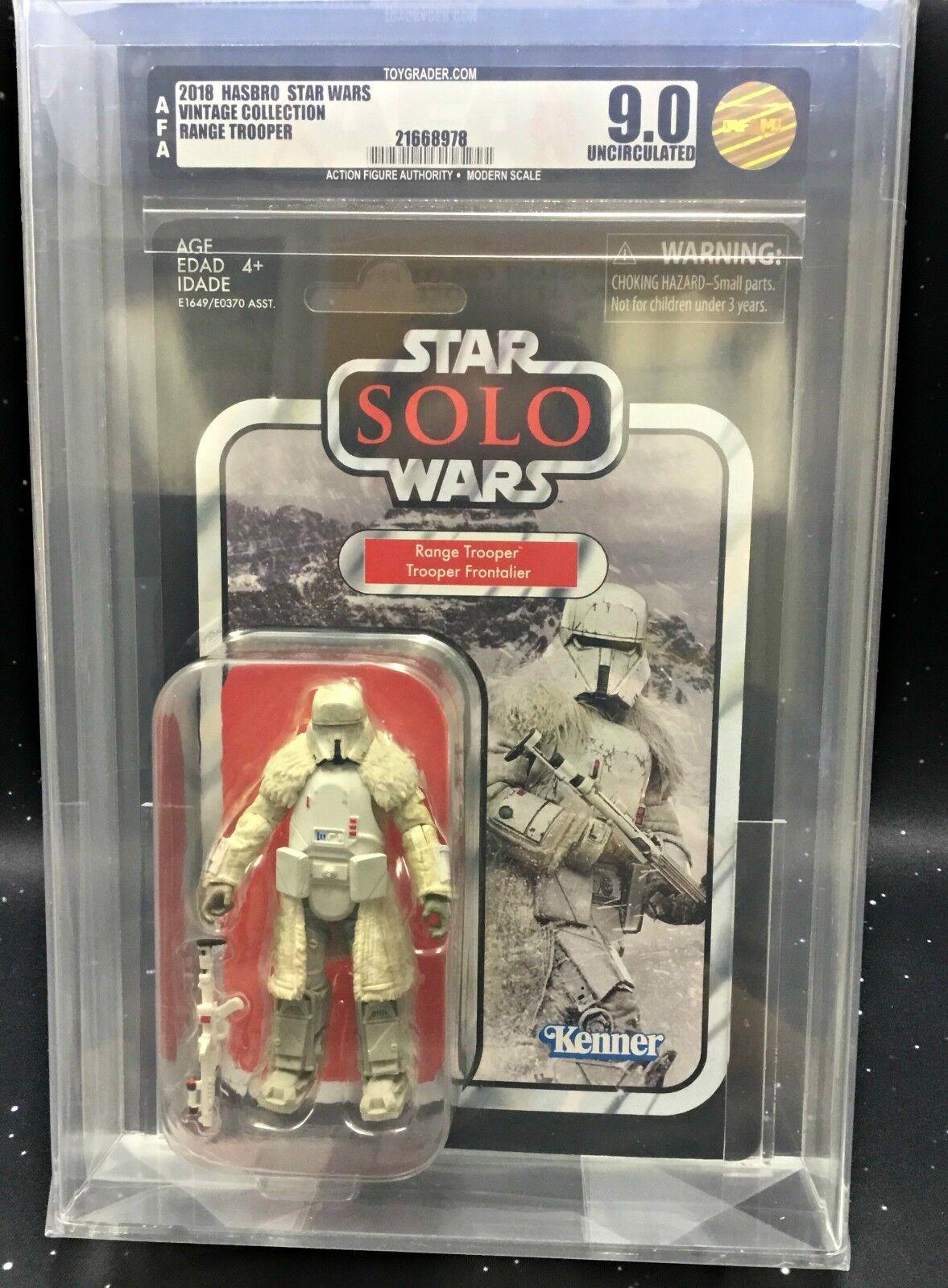 2018 Star Wars Vintage Collection VC128 Solo Range Troooper AFA U9.0