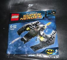 LEGO Polybag 30301 BAT JET Batman Dc Comics Super Heroes New Sealed Brick Batjet