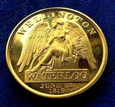 MEDAILLE WATERLOO  WELLINGTON JUNE 18 1815