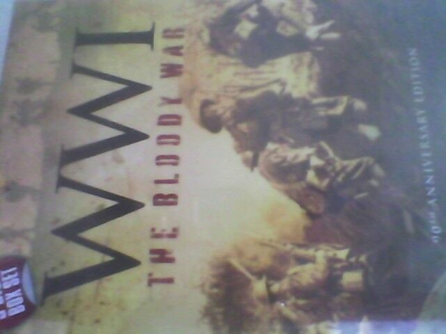 THE HISTORY CHANNEL WW1 THE BLOODY WAR 3 DISC BOX SET NEW SEALED FREE POST