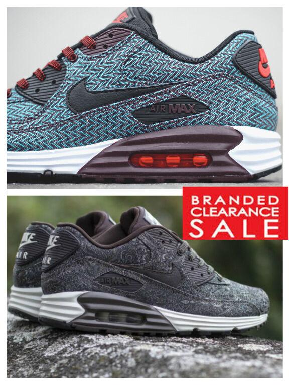 NEU Men Nike Air Max Lunar 90 and Velvet Braun Baroque Suit and 90 Tie Qs Größe 5 6 7 8 1fe4a6