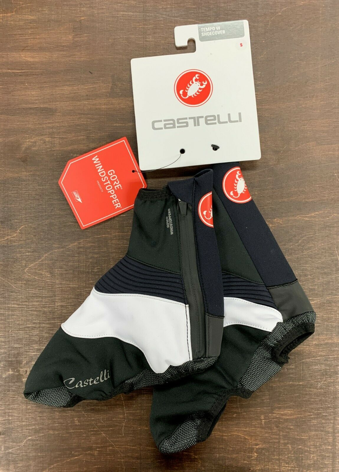 Castelli Tempo Women's shoes Cover Size Small New