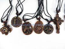 $0.75/p wholesale 50pcs hippie rock punk pendant necklaces wholesale jewelry lot